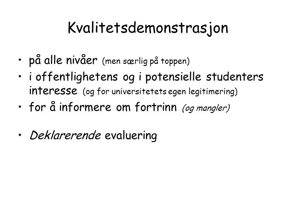 En faglig/pedagogisk eller byråkratisk diskurs.