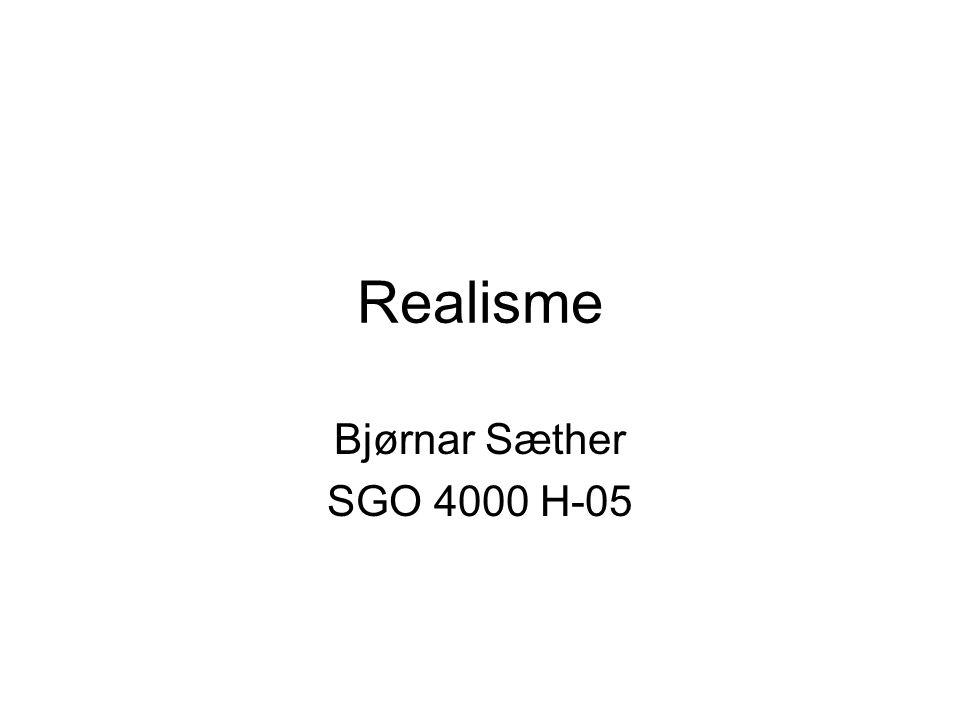 Realisme Bjørnar Sæther SGO 4000 H-05