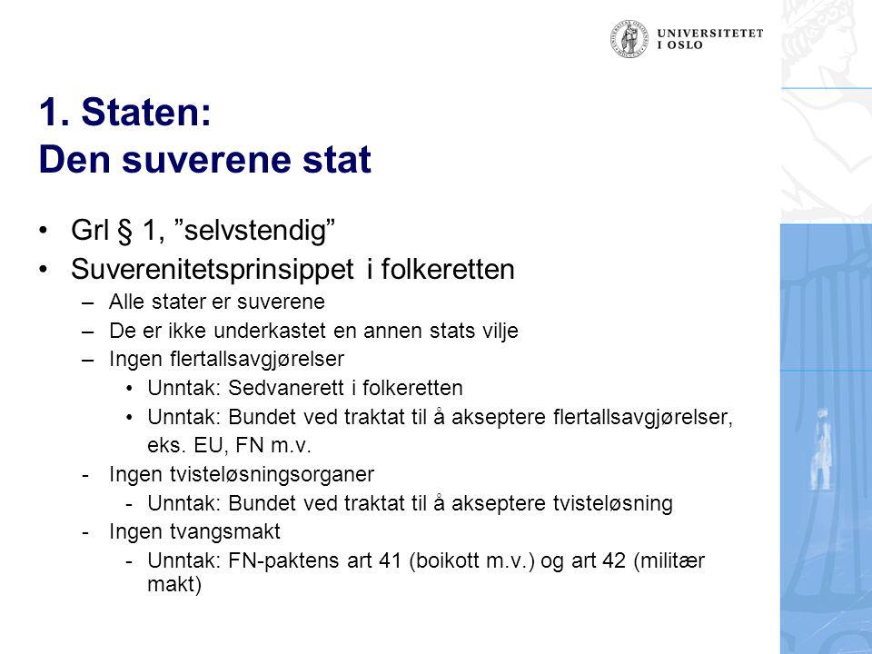 3.Stortinget: Bevilgningsmyndighet Hvilket innhold.