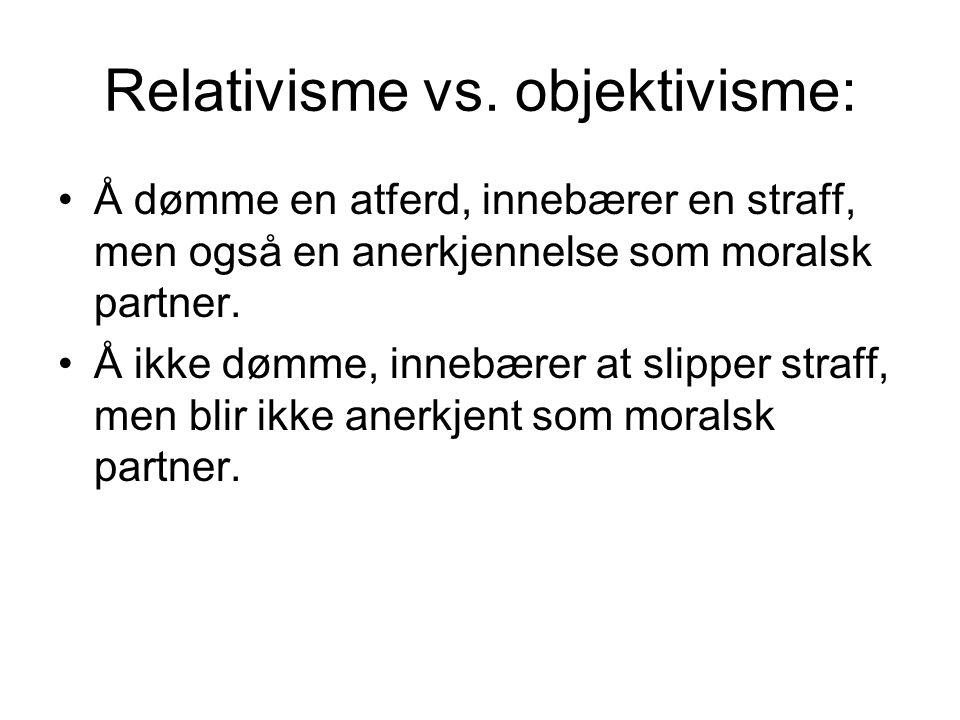 Relativisme vs.