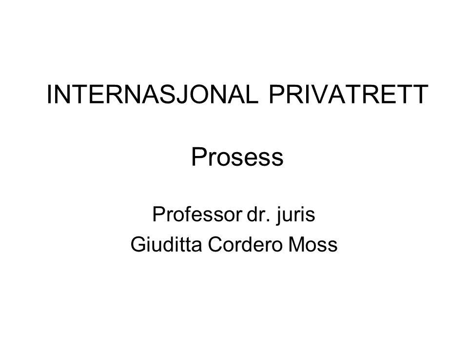 Verneting Utenfor EØS –Tvml Innenfor EØS –Luganokonvensjon (luganolov 8.1.1993 nr 21)