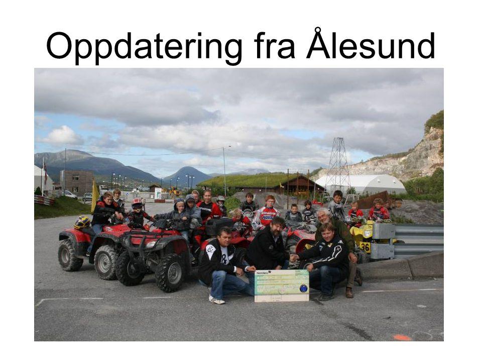 Oppdatering fra Ålesund