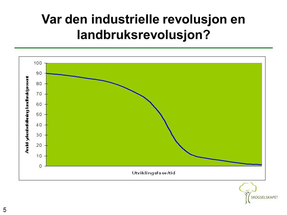 5 Var den industrielle revolusjon en landbruksrevolusjon?