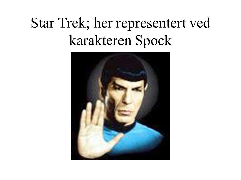 Star Trek; her representert ved karakteren Spock