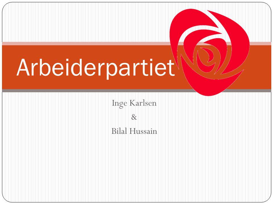 Inge Karlsen & Bilal Hussain Arbeiderpartiet
