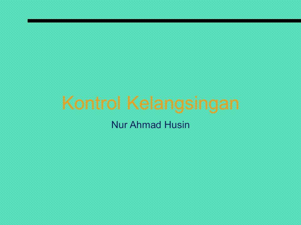 Kontrol Kelangsingan Nur Ahmad Husin
