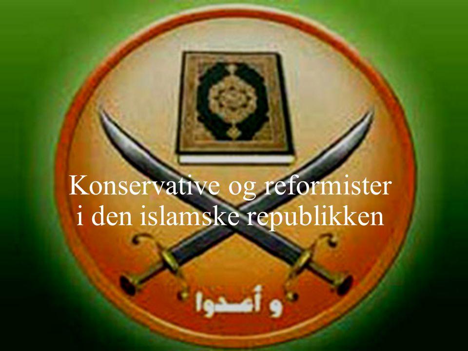 Konservative og reformister i den islamske republikken