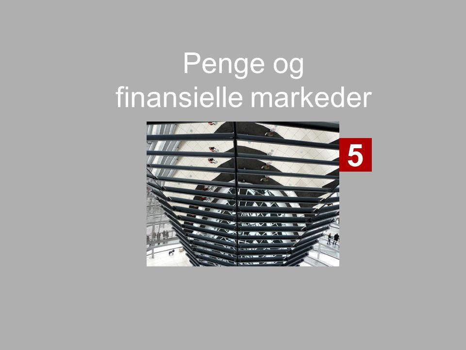Penge og finansielle markeder 5