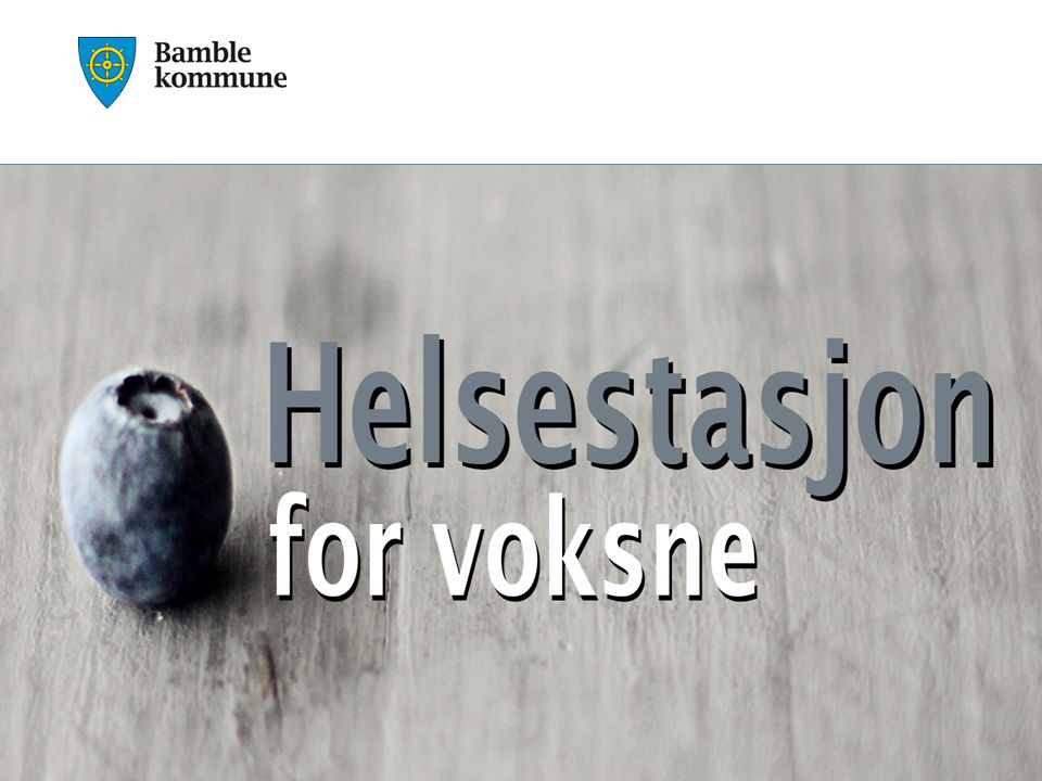 Holth, Solstad, Skolem og Oksholen Bakgrunn Samhandlingsreformen ble innført 01.01.2012 Kommunene fikk større ansvar for forebygging og behandling av innbyggerne.