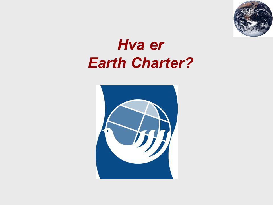 Hva er Earth Charter?