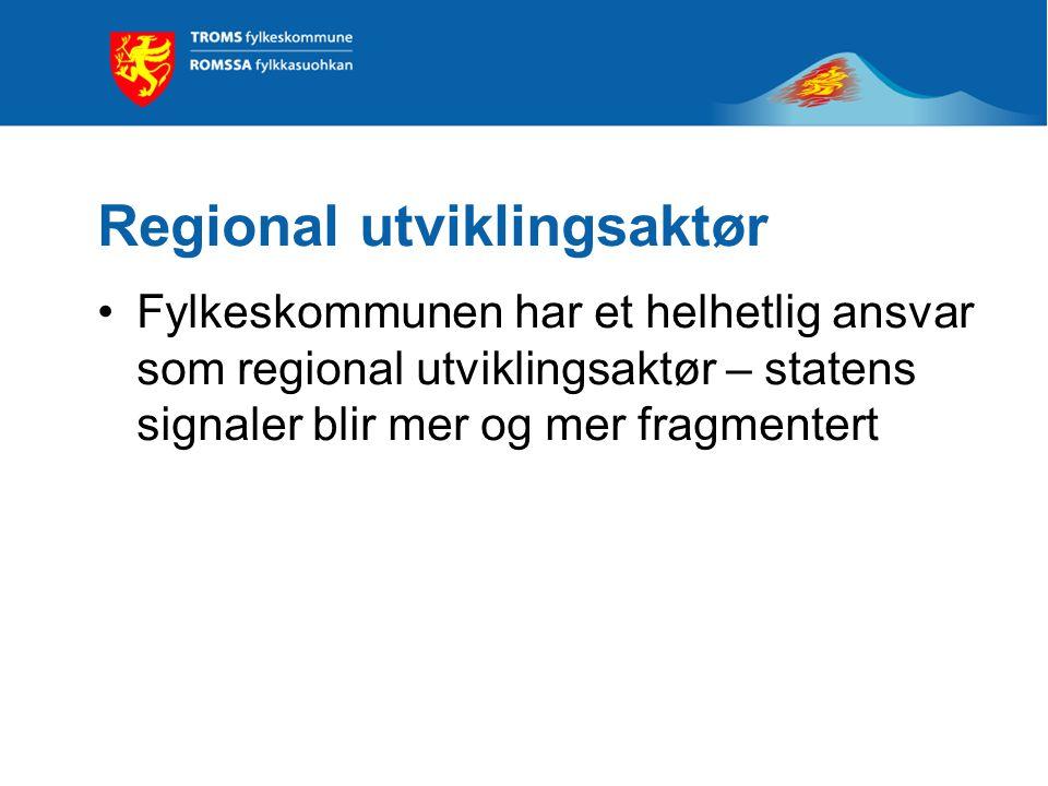 Forvaltningsreformen Kort prosess med lite involvering av KS og fylkeskommunene – bl.a. ingen høring Ingen eller få personer overføres fra staten til