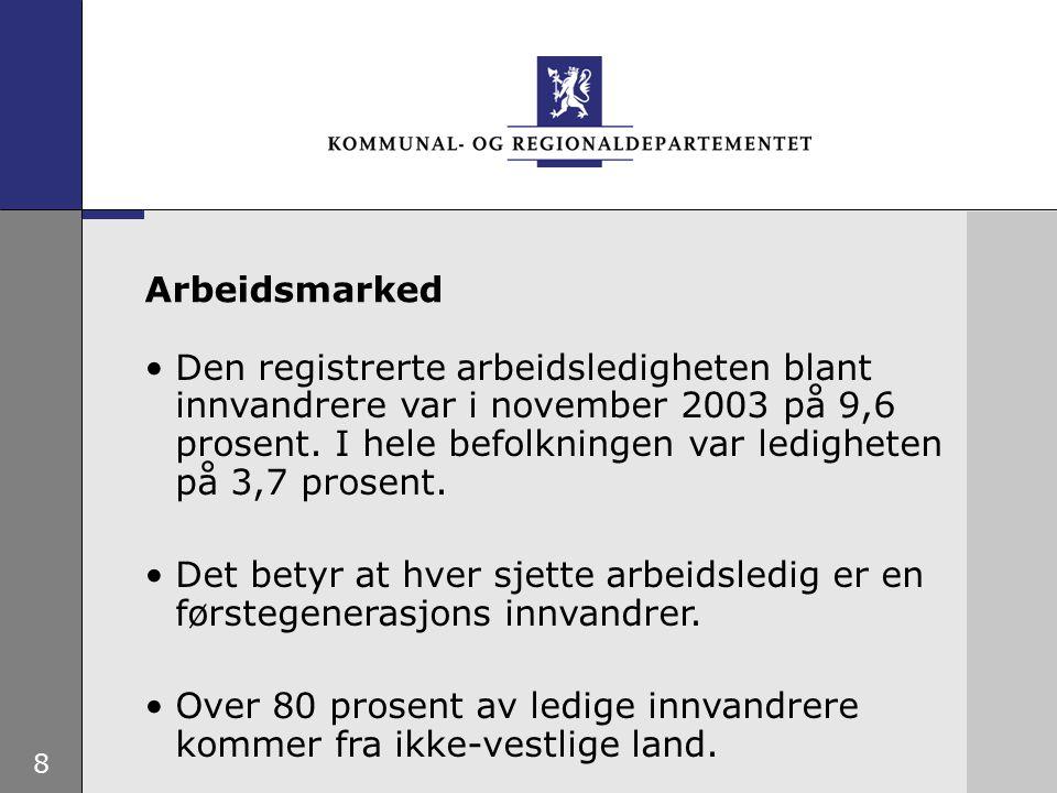 9 Rask og god bosetting.Etablering av ordningen med introduk- sjonsprogram og introduksjonsstønad.