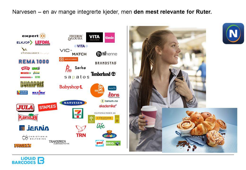Narvesen + Ruter: mulighet for kommersielt spennende samarbeid med brands