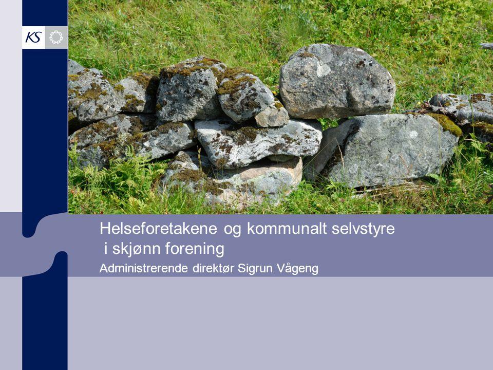 Vi representerer 19 fylkeskommuner 430 kommuner 500 bedrifter 400 000 ansatte 12 000 politikere 333 milliarder kroner Kartgrunnlag Copyright © Statens kartverk, Norsk Eiendomsinf.