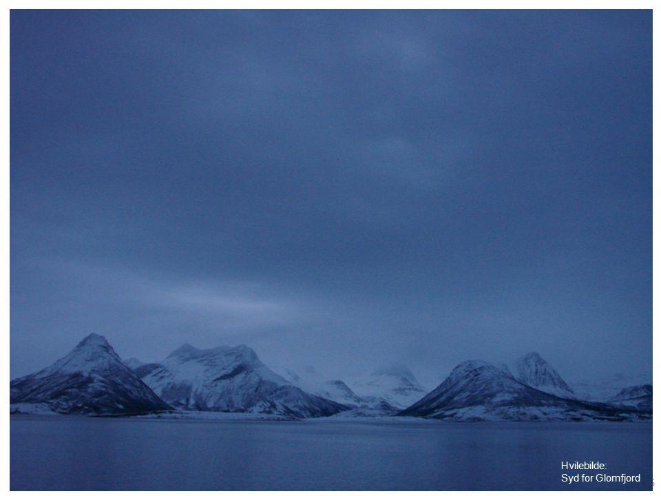 Knut Kaasen 16 Hvilebilde: Syd for Glomfjord