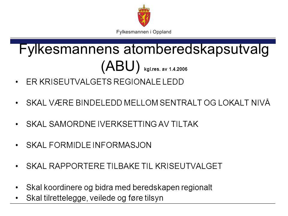 Fylkesmannens atomberedskapsutvalg (ABU) kgl.res.