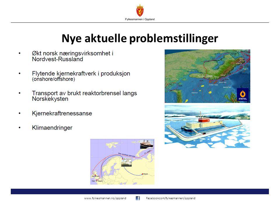 www.fylkesmannen.no/opplandFacebookcom/fylkesmannen/oppland Nye aktuelle problemstillinger