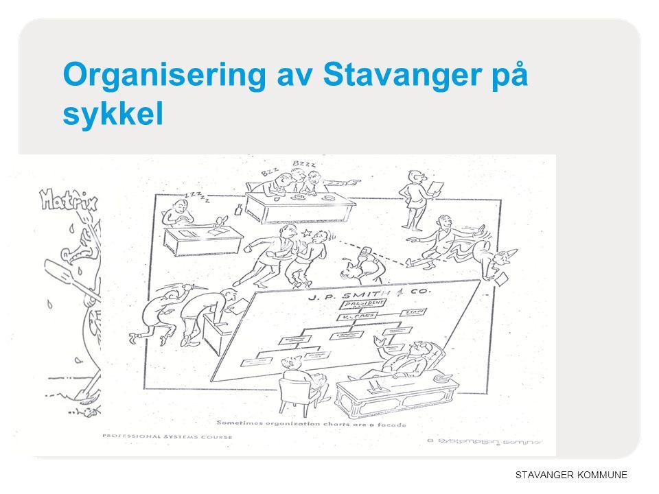 STAVANGER KOMMUNE Organisering av Stavanger på sykkel