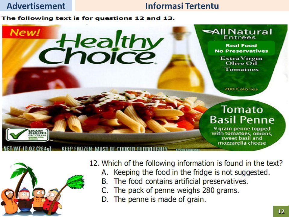 Informasi TertentuAdvertisement12