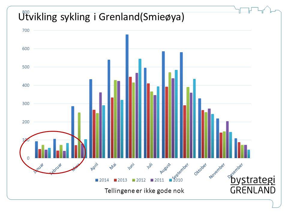 Prioriterer hovedsykkel- vegnett i Grenland