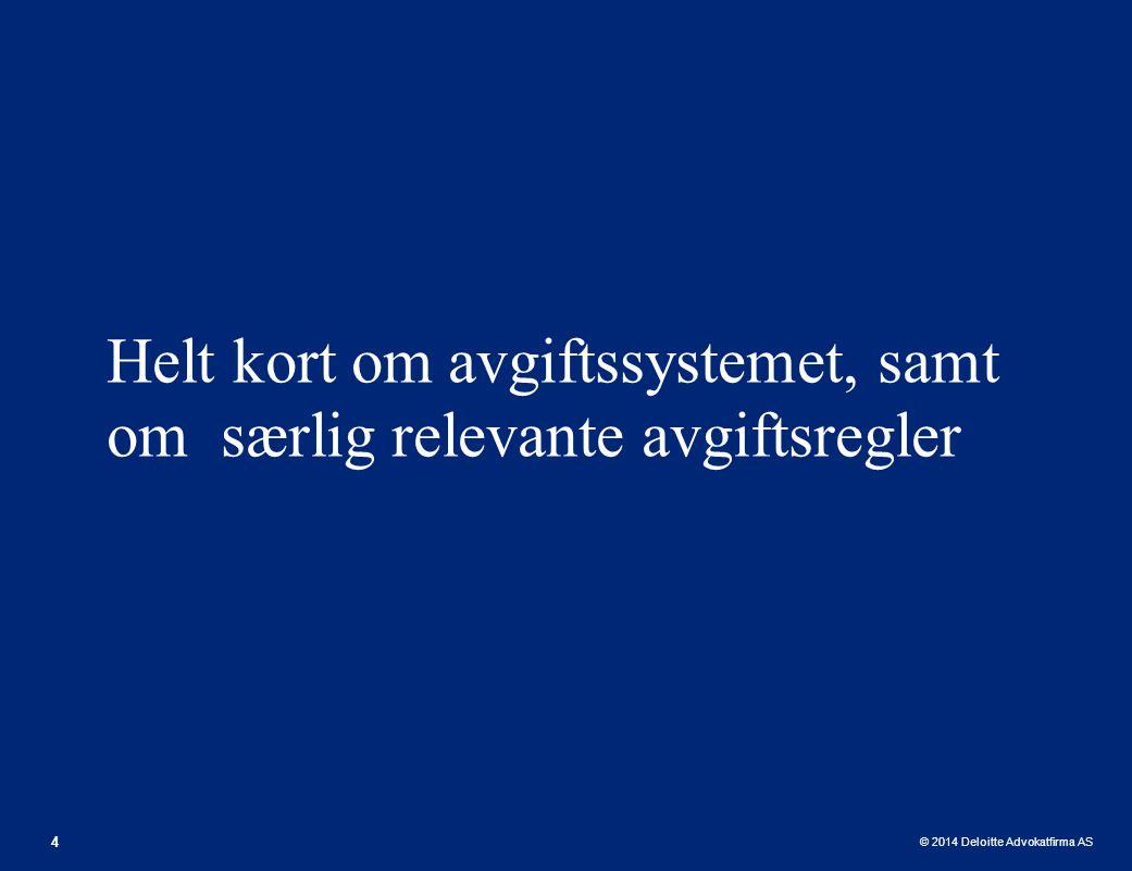 © 2014 Deloitte Advokatfirma AS Avtaleregulering 35