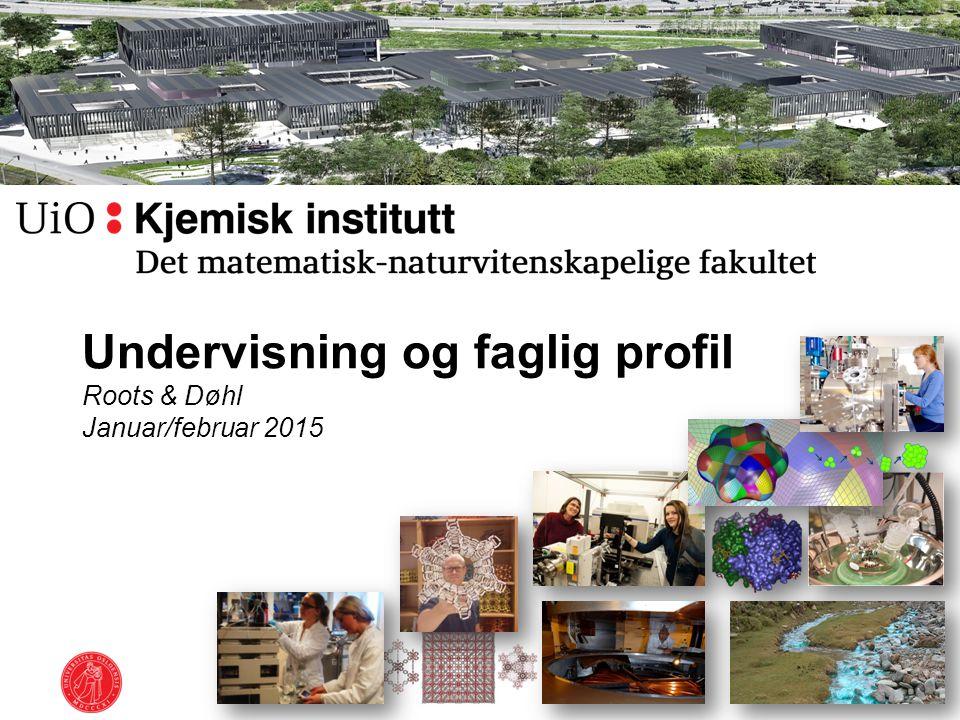 Undervisning og faglig profil Roots & Døhl Januar/februar 2015