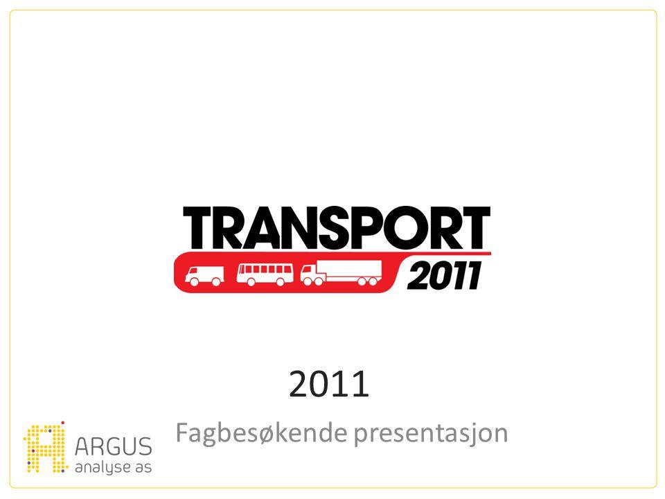 2011 Fagbesøkende presentasjon