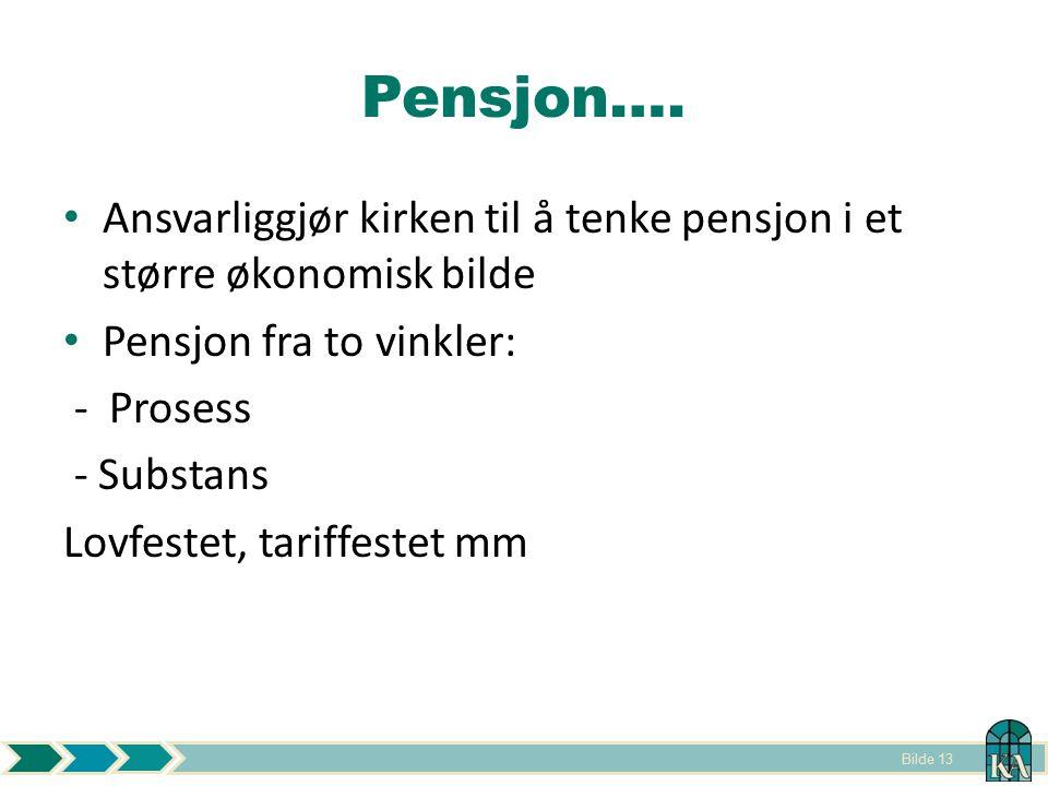 Bilde 13 Pensjon….