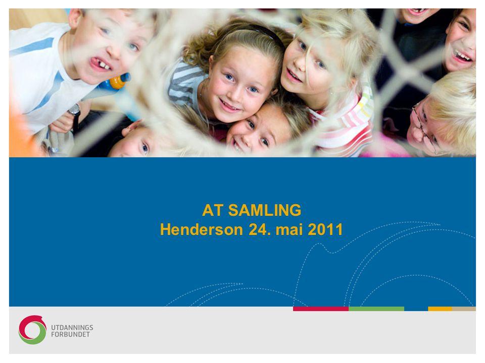 AT SAMLING Henderson 24. mai 2011