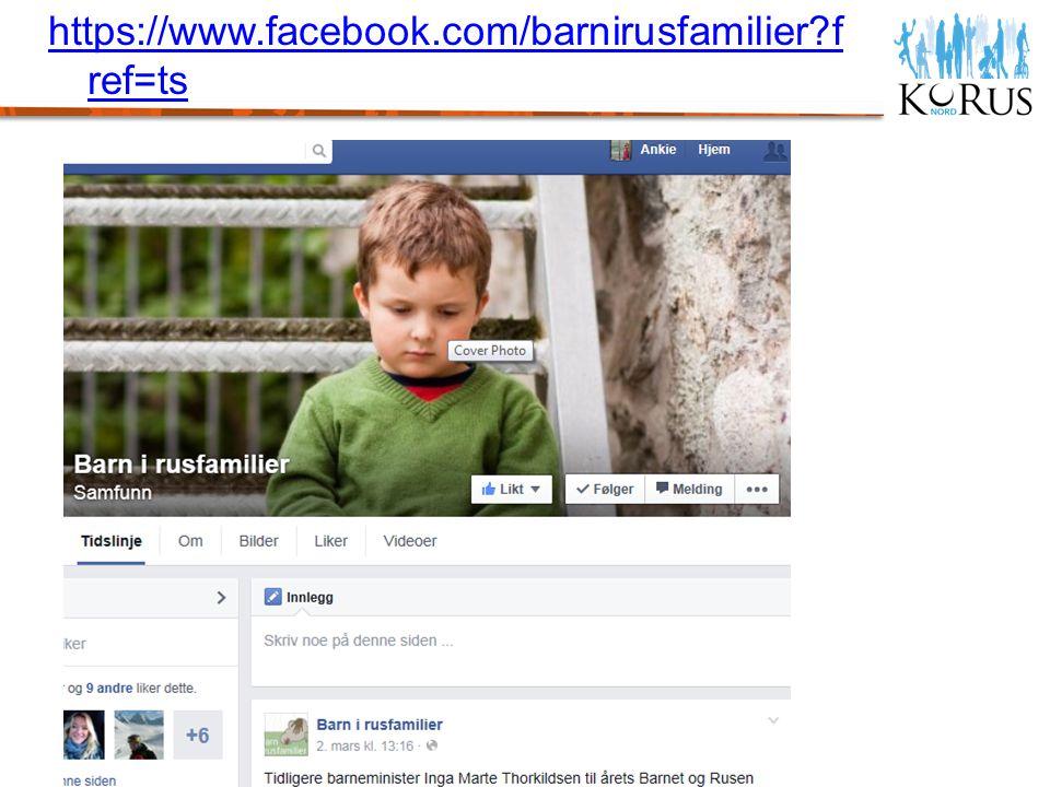 https://www.facebook.com/barnirusfamilier?f ref=ts