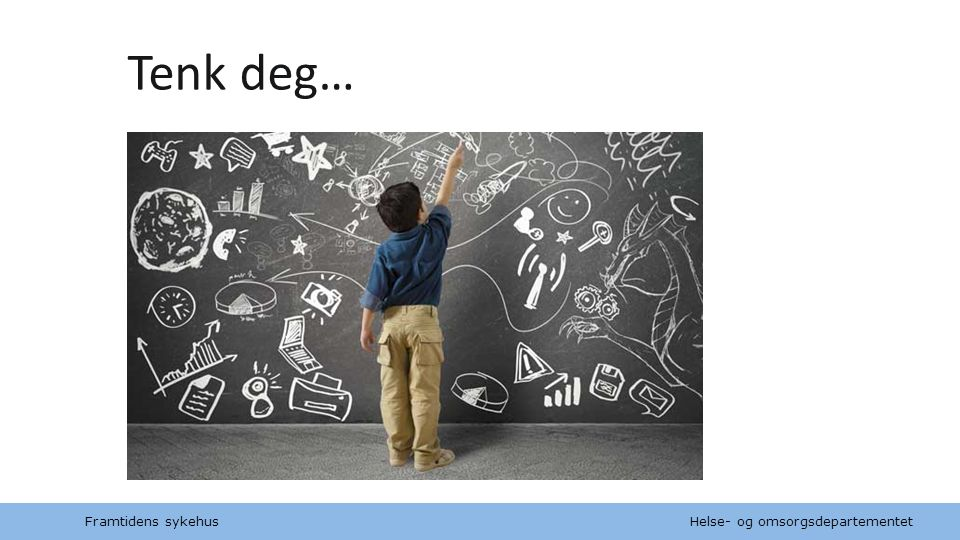 """Helse- og omsorgsdepartementet Norsk mal: Tekst med kulepunkt Tips bunntekst: For å sidenummer, dato, og tittel på presentasjon: Klikk på """"Sett Inn"""" -"""