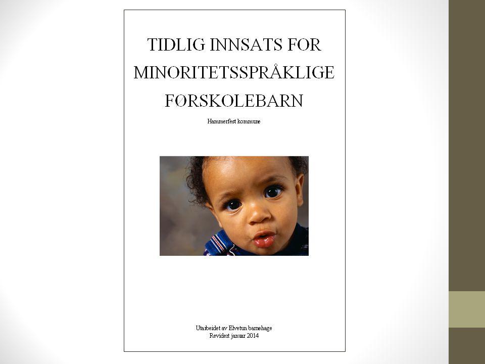 Foreldresamarbeid Oppfordrer foreldre til å bruke morsmålet sitt.