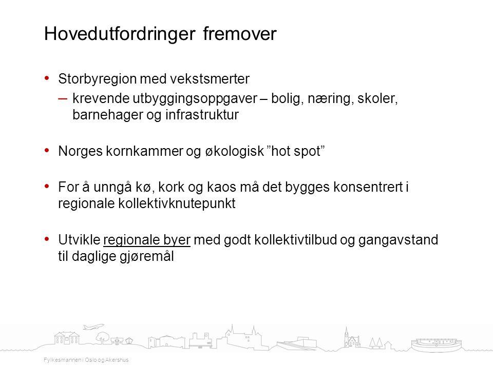 """Storbyregion med vekstsmerter – krevende utbyggingsoppgaver – bolig, næring, skoler, barnehager og infrastruktur Norges kornkammer og økologisk """"hot s"""