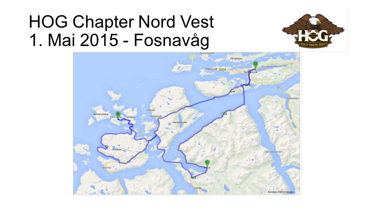 HOG Chapter Nord Vest 1. Mai 2015 - Fosnavåg
