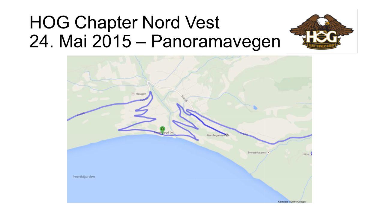 HOG Chapter Nord Vest 07. juni 2015 – Stryn, Geiranger