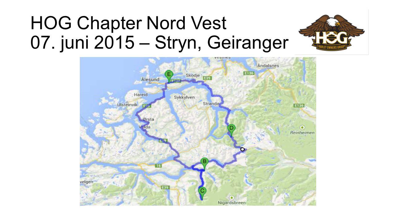 HOG Chapter Nord Vest 20. juni 2015 – 666
