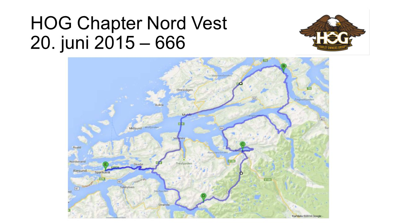 HOG Chapter Nord Vest 20. juni 2015 – 666