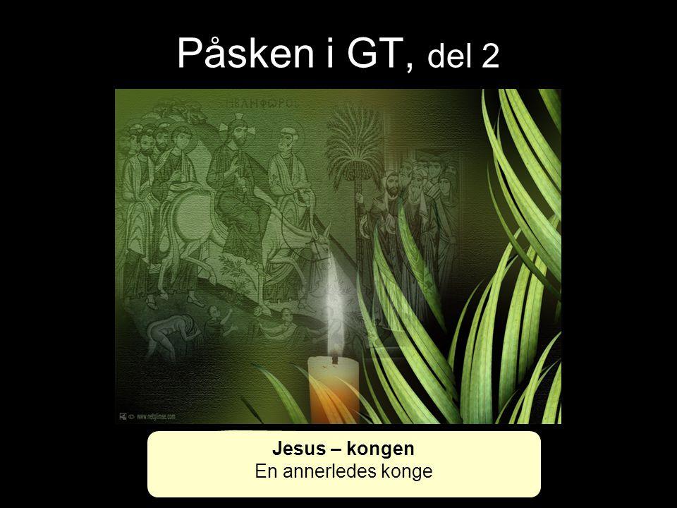 Påsken i GT, del 2 3.Mos.16,3-10 Dette skal Aron ha med seg når han går inn i helligdommen: en ung okse til syndoffer og en vær til brennoffer.