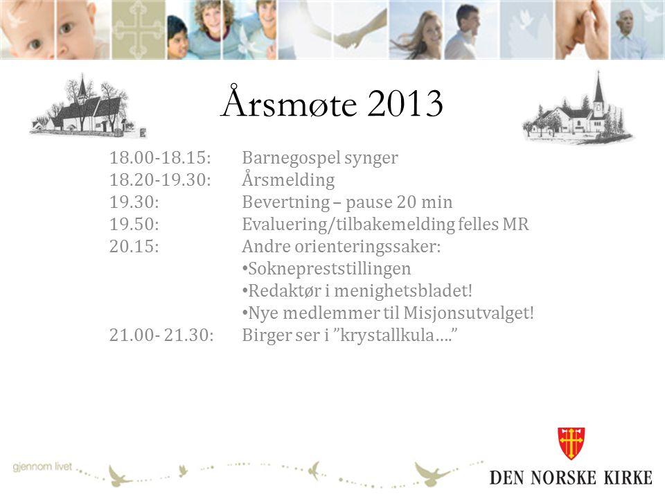 Årsmelding 2013 Trøgstad og Båstad menigheter