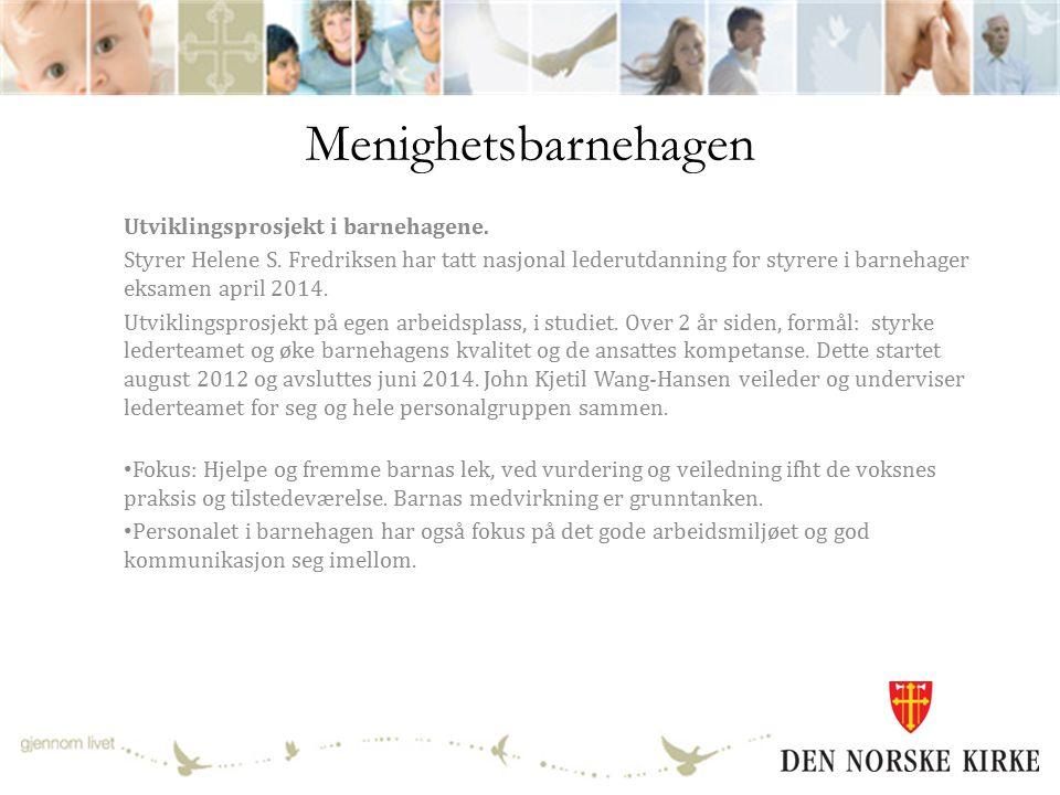 Trosopplæringen 2013 er første hele år med ordinær drift i trosopplæringen med reduserte midler.