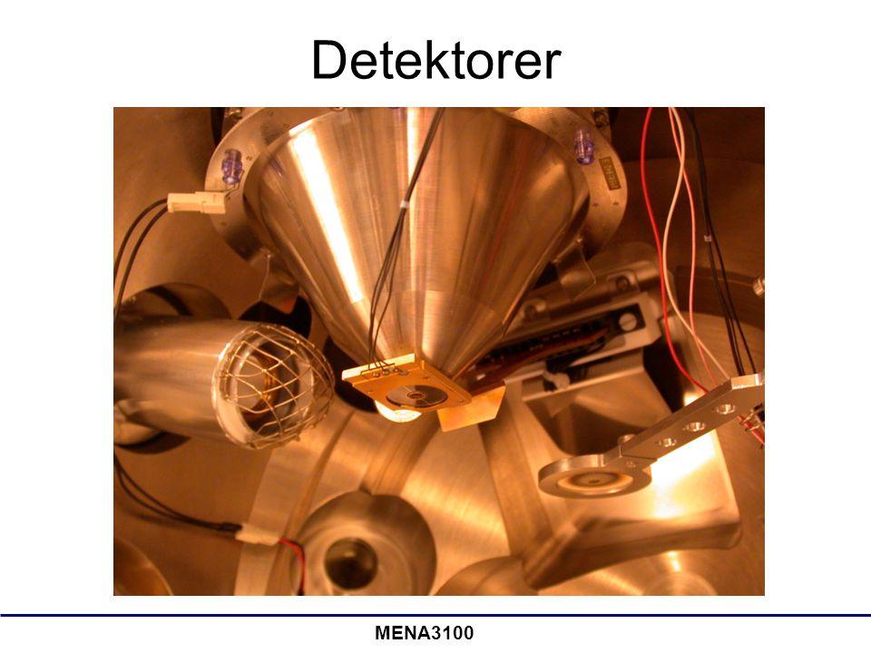 MENA3100 Detektorer
