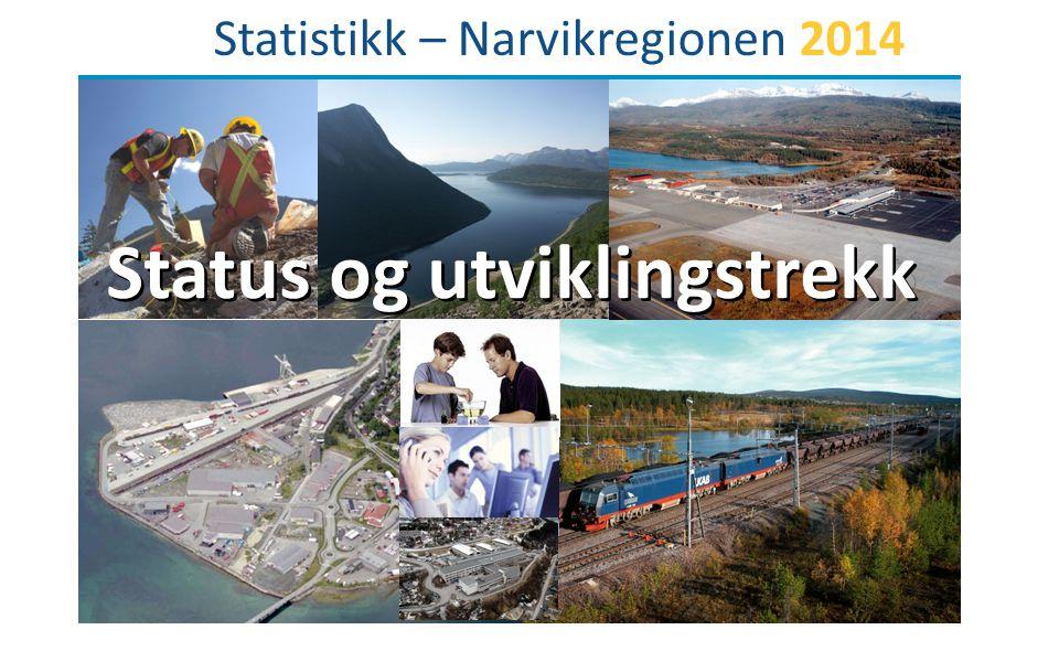 Statistikk – Narvikregionen 2014 Status og utviklingstrekk
