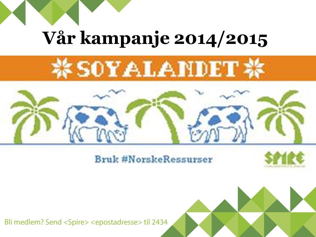 Vår kampanje 2014/2015