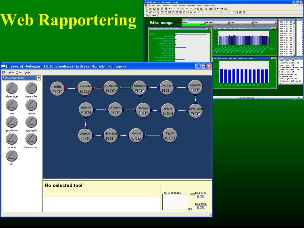 Web Rapportering