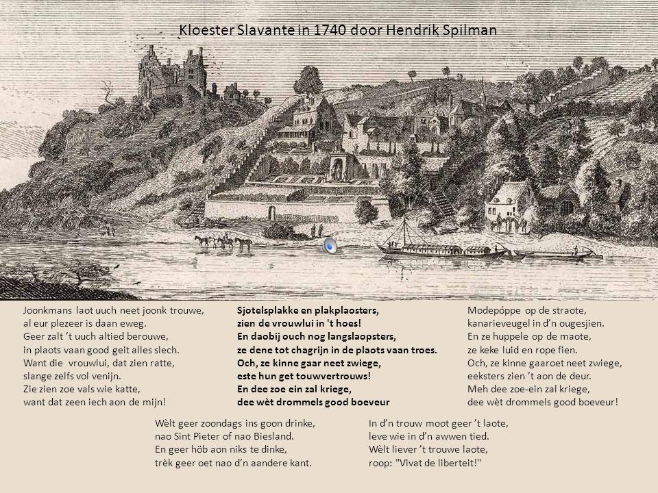 Oetlègk bij 't veurege leedsje: De kokepan In De opregte Maastrichter Almanak vaan 1859 stoont dit leedsje aofgedrök.