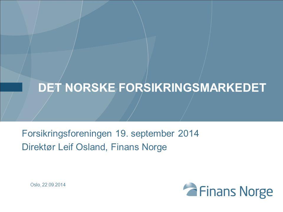 Økt lønnsomhet i skadeforsikring i Norge 2