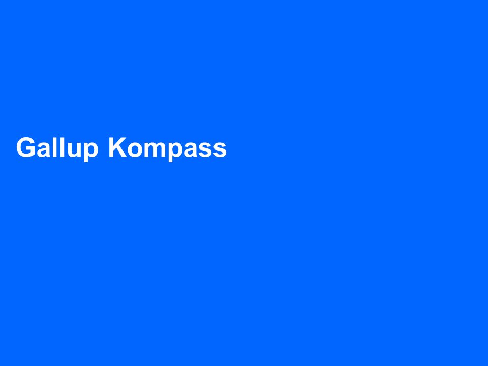 TNS Gallup + 47 23 29 16 00 Gallup Kompass