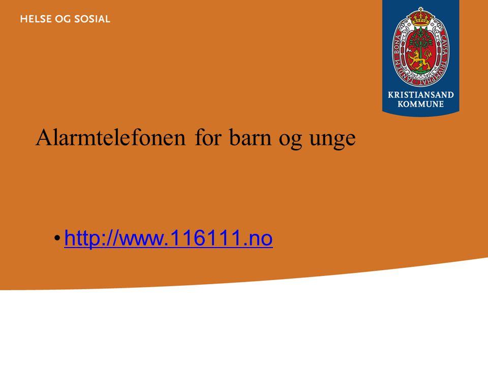 Økning i antall meldinger i Kristiansand 2004375 meldinger 2009627 meldinger