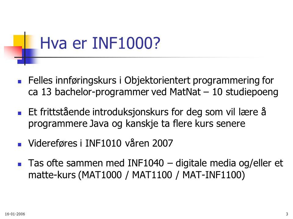 Litt flere kommandoer i Unix einn: ~>copy ~inf1000/README.