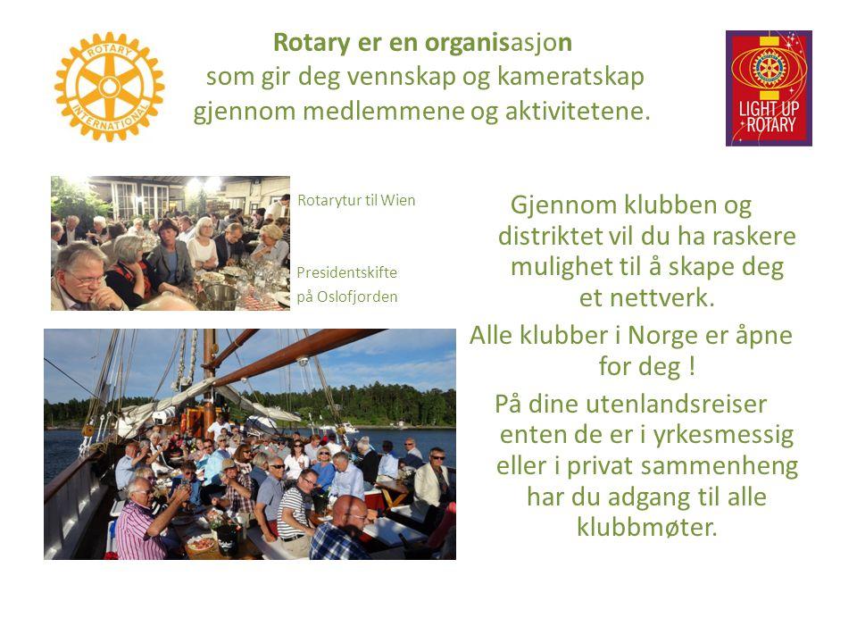 The Rotary Foundation er Rotary s « bank », en stiftelse med formål å støtte Rotarianeres bestrebelser på å fremme internasjonal forståelse, goodwill og fred i verden gjennom bedring av helse, støtte til utdannelse og lindring av fattigdom.